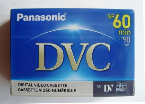 Pack de 2 cintas mini dvc/dv 60 min panasonic cassette
