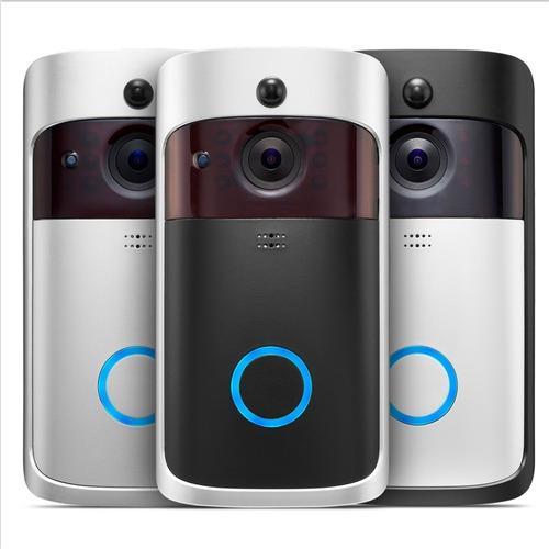 Video portero camara 720p wifi timbre visión graba micro sd