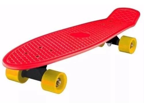 Patineta skate grande y pequeña multicolor ruedas silicone