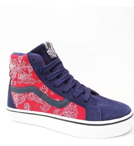 Zapatos botas vans off the wall old skool unisex zoom fashio
