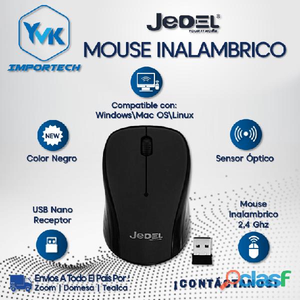 Mouse Inalambrico Marca: JEDEL.