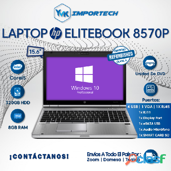 LAPTOP HP ELITEBOOK 8570P.