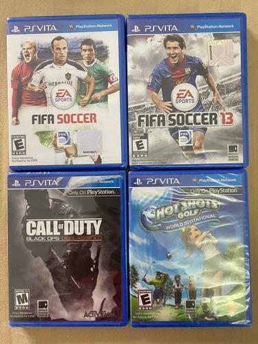 Juegos playstation ps vita originales precio unitario c/u