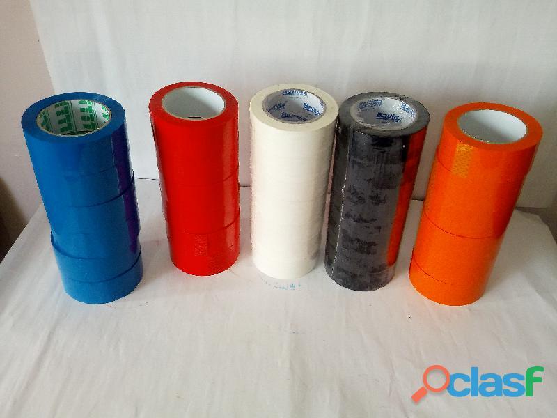 Pack de 4 Tirros de Colores de 100 Mts x 4,5 cm