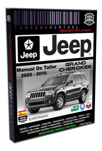Jeep grand cherokee wk wh 2005-2010 manual de taller diagram