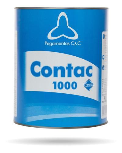 Pega amarilla contac 1000 uso grama artificial carpintería