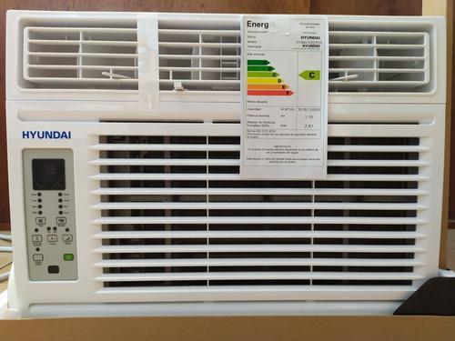 Aire acondicionado ventana digital 8000 btu hyundai