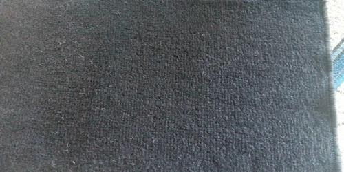 Alfombra tapetes negra para piso auto