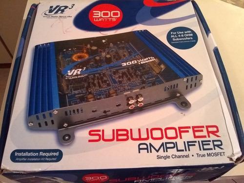 Amplificador De Subwoofer 300 Watts