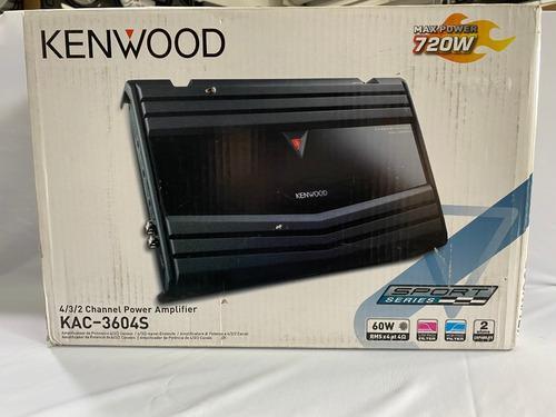 Amplificador kenwood mod: 3604s para 4/3/2 canales 60w (zs)