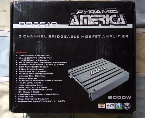 Amplificador pyramid 3000w