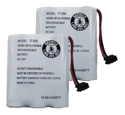 Batería recargable para teléfono fijo bt- 905
