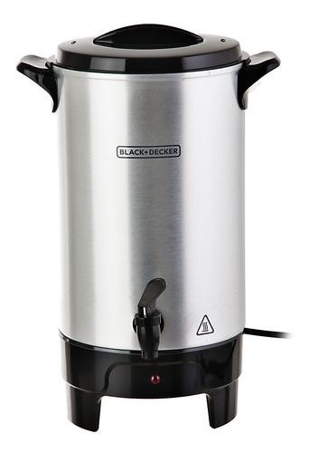 Cafetera eléctrica 40 tazas marca: black and decker