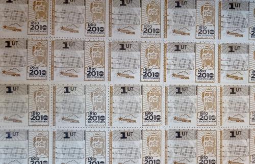 Estampilla o timbre fiscal 1ut distrito capital trámite gtu