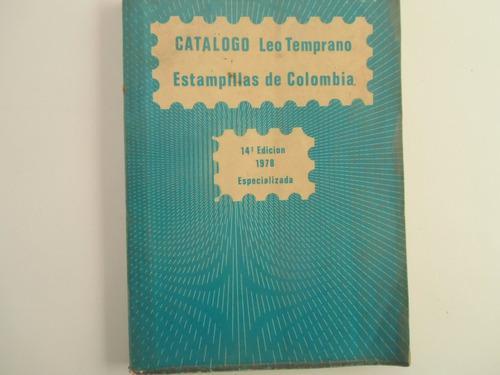 Filatelia estampillas de colombia hasta 1978 230 págs