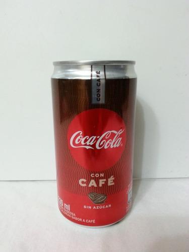 Lata de coca cola sabor cafe para coleccionistas