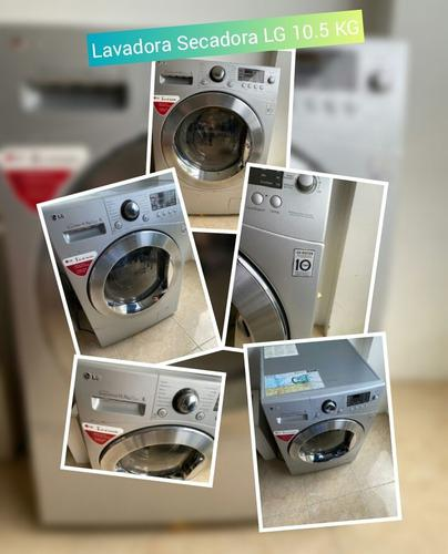 Lavadora secadora lg 10.5 kg