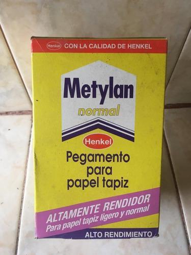 Metylan de 500 grs pegamento para papel tapiz