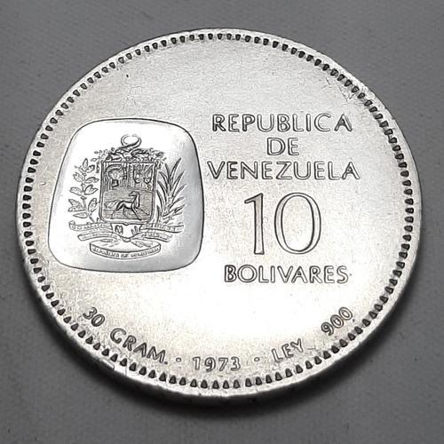 Moneda de plata centenario esfinge del libertador doblon