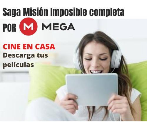 Películas digitales saga misión imposible para descargar