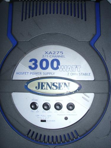 Planta amplificador jensen xa275 300 watts