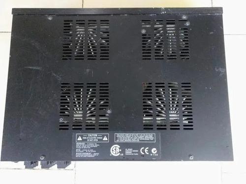 Planta mezcladora 8 canales pro. amplificador crown 280ma/