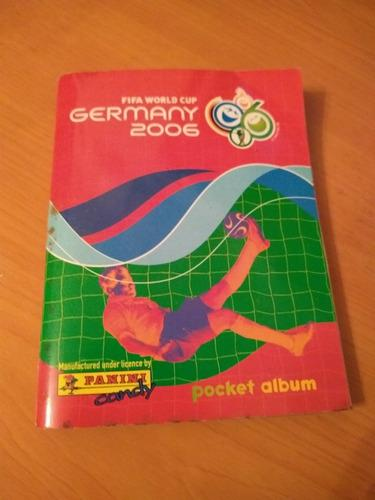 Album barajita germany 2006 panini pocket álbum leer descrp