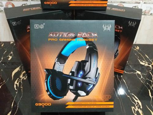 Audifonos gamer g9000 kotion each pro gaming oferta