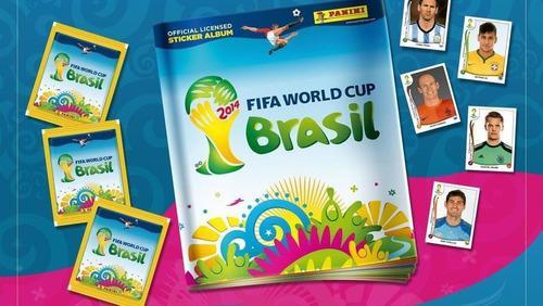Barajitas cromos album mundial brasil 2014 especiales