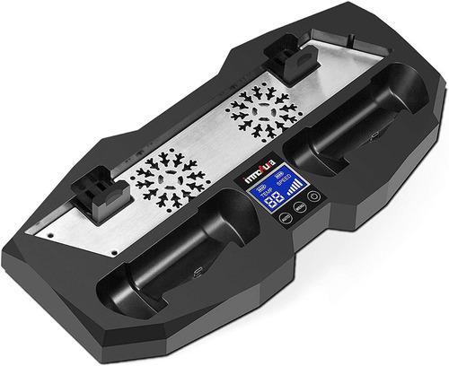 Base con fan cooler control tactil ps4 todos los modelos