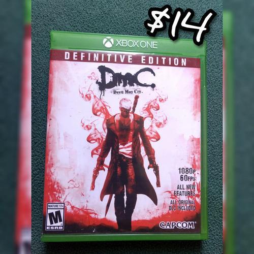 Devil may cry definitive edition videojuego perfecto estado