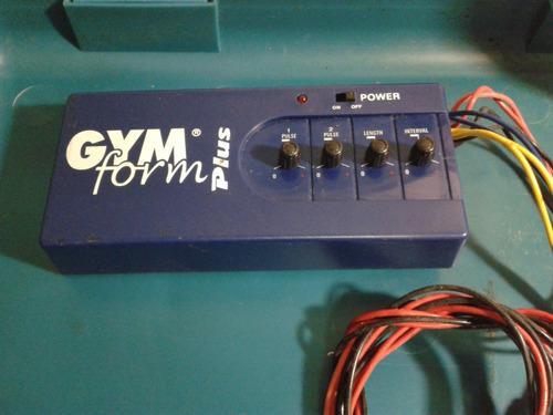 Gym Form Plus Gimnasia Pasiva8 Conexiones Para Electrodos