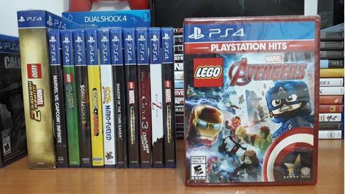 Lego marvel avengers juego playstation ps4