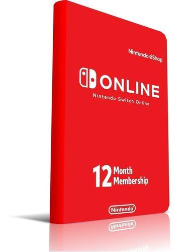 Membresía nintendo switch online 3 & 12 meses oferta !!
