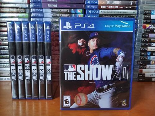 Mlb the show 20 juego playstation 4