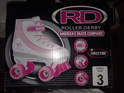 Patines cuatro ruedas roller derby nuevos