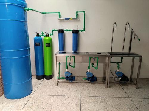 Planta purificadora de agua para recarga de botellones