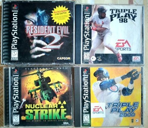 Playstation 1 juegos originales