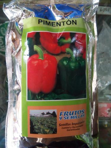 Semillas de pimentón certificadas e importadas + obsequio