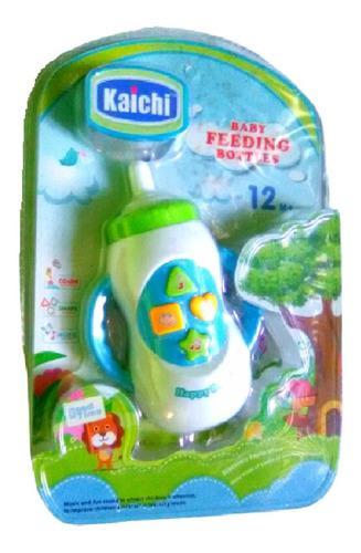 Tetero musical juguete interactivo con luces y sonido bebes