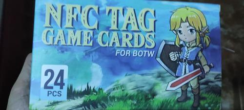 Todos los amiibo zelda en tarjetas