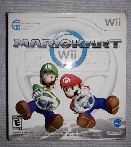 Volante Wii Original Maria Kart