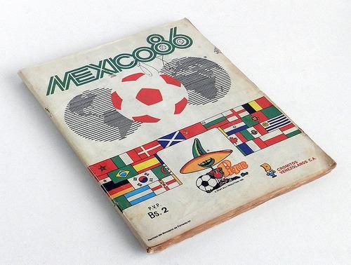 lbum Barajitas / Cromos Mundial Fútbol México 86