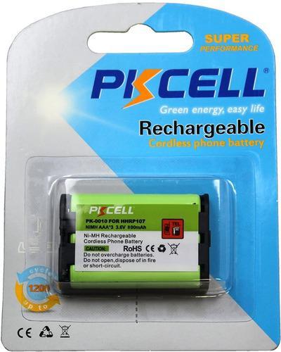 Bateria pkcell para teléfonos panasonic hhr- p107
