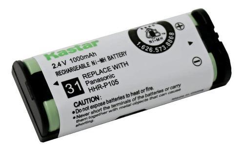 Bateria telefono inalambrico panasonic hhr-p105