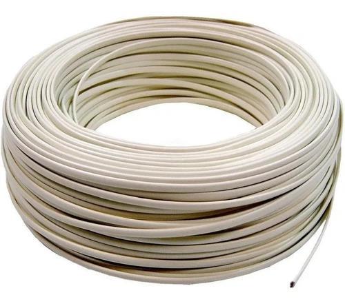 Cable telefono plano 4 hilos telefonico 25 mt