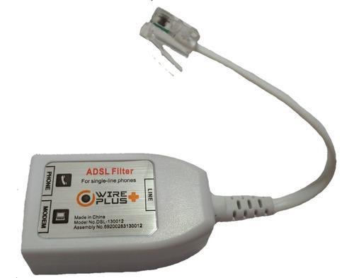 Filtro Splitter Internet Teléfono Conex Rj11 Wireplus