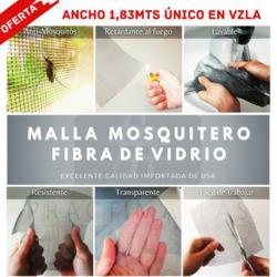 Malla mosquitero de fibra de vidrio