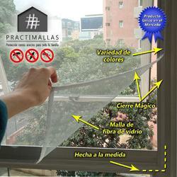Mallas mosquiteros para ventanas con cierre magico
