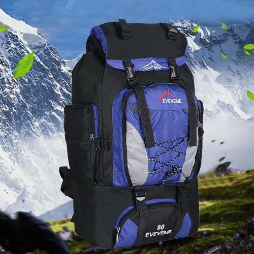 Morral bolso mochila backpack tactico camping 80lts rt179